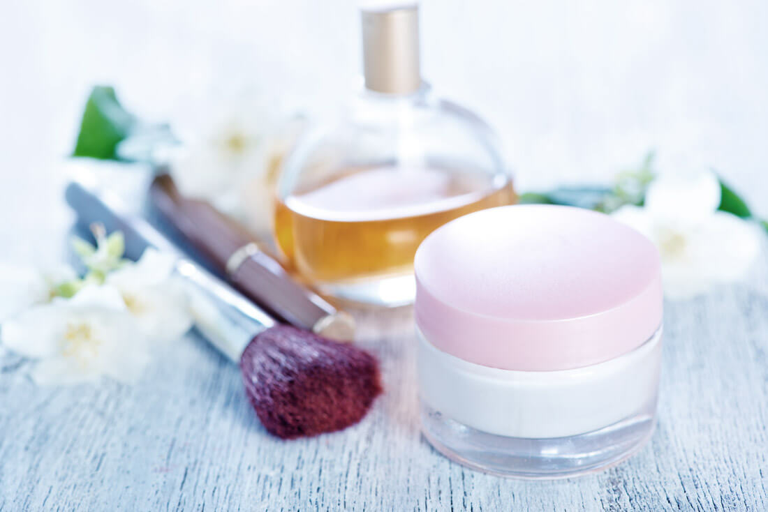 French Natural Beauty Products in Pharmacy